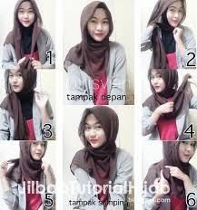 tutorial hijab segitiga paris simple jilbab renda saudia tutorial hijab paris segi empat