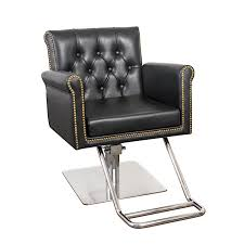 hair chair with nailhead trim and tufting winston