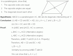 properties of parallelograms worksheet properties of parallelogram geometrical proof middle high