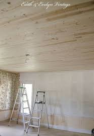 Painting Over Popcorn Ceiling by How To Plank A Popcorn Ceiling Hometalk