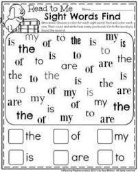 english for kids reading pinterest sight words for kids and