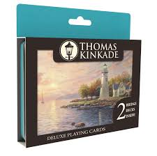 kinkade deluxe cards by ceaco the kinkade