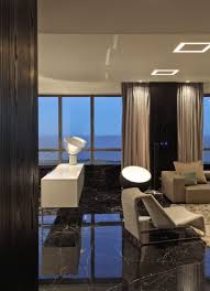 black marble flooring apartments cool long sofa with remarkable black marble floor
