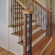 Replacing A Banister And Spindles Metal Stair Parts Stair Stair Case Design Pinterest Metal