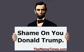 Shame On You Meme - the meme times on twitter shame on you donald trump