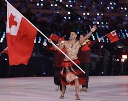 Canada Flag Bearer Tonga U0027s Shirtless Flag Bearer Is Back