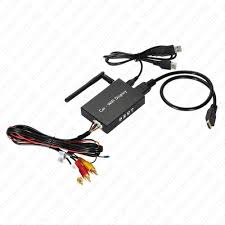 12v car wifi display dongle receiver airplay mirroring miracast hd