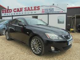 lexus used in uk used 2006 lexus is 2 5 250 se 4d auto 204 bhp for sale in cambs