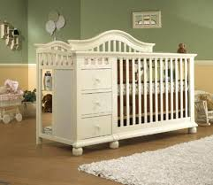 4 In 1 Convertible Crib With Changing Table Fashionable Convertible Changing Table Dresser Crib Changing Table