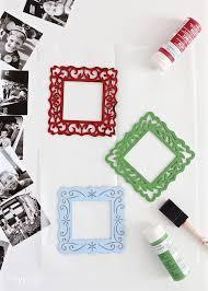 diy ornaments using instagram photos