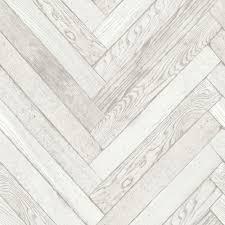 B Q Home Decor by Fine Décor Parquet Wood Plank White Wallpaper White Wallpaper