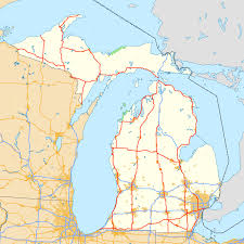 Map Of Usa With Highways by List Of U S Highways In Michigan Wikipedia