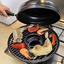 gaz cuisine poêle grill gaz 32 cm achat à prix pas cher