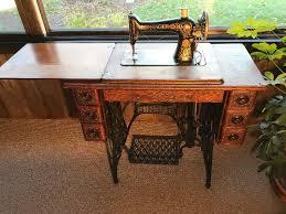 Antique Singer Sewing Machine And Cabinet Vnuk U0026 Associates Llc Estate Moving Sale Starts On 11 16 2017