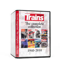 70 years of trains magazine on dvd rom kalmbach hobby store