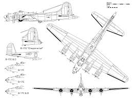 b 17 flying fortress coloring pages