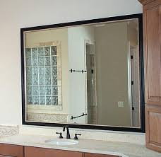 Bathroom Mirror Installation Custom Mirror Installation And Repair In Island And Metro