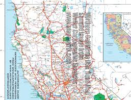 San Francisco County Map by California Usa Road Highway Maps City U0026 Town Information