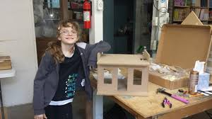 mother and daughter build first dollhouse dollhouse dreams