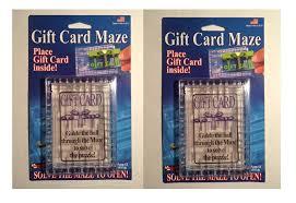gift card maze 2 pack gift card maze puzzle brain teaser challenge