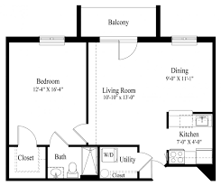 House Plans With Attached Apartment Floor Plans At Hagerstown Diakon Senior Living Services