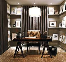 Built In Desk Ideas For Home Office by This Sleek Modern Home Office Features A Builtin Desk With Plenty