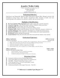 professional objectives simple resume objective statements sample job for objectives