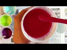 how to mix paint for a successful acrylic pour 055 youtube