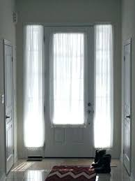 Curtains For Doors With Windows Small Door Window Curtain Door Window Curtains I Made Front Door