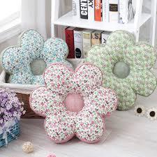 coussin de si e pastoral décoratif imprimé fleur forme siège coussin épaississent