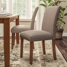 Fabric Dining Room Chairs High Back Fabric Dining Chairs Wayfair