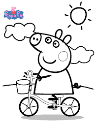 free peppa pig coloring pages coloring