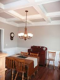 dining room ceilings interesting coffered ceiling dining room photos best idea home