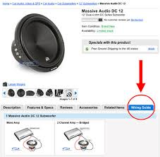 new wiring guide on car subwoofer product pages blog sonic