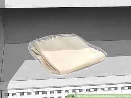 Leather Sofa Gone Sticky 4 Ways To Remove Sticky Substances From Fabric Wikihow
