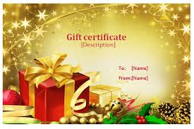 celebration templates celebration gift certificate templates