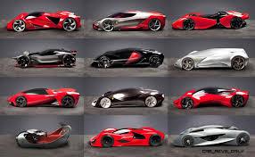 ferrari manifesto ferrari design challenge 2015 vote your future hypercar style