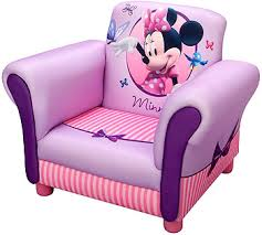 Toddlers Armchair Disney Minnie Mouse Upholstered Chair Toys