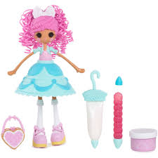 lalaloopsy loopy hair lalaloopsy cake fancy n glaze fashion doll walmart