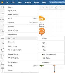 membuat erd visual paradigm exporting files draw io online draw io support