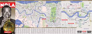 Map Of French Quarter New Orleans by New Orleans Map By Vandam New Orleans Streetsmart Map City