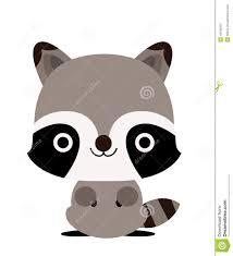 raccoon stock vector image 43198297