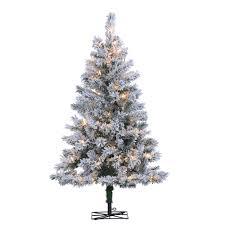 sterling 4 ft pre lit colorado spruce artificial tree