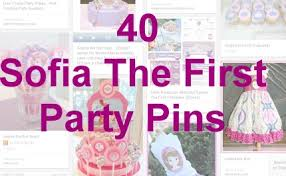 Sofia The First Birthday Decorations 40 Sofia The First Party Ideas U2013 Party Ideas