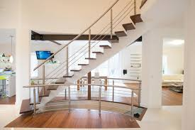 steel stair railing houzz