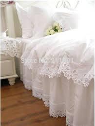 Princess Duvet Cover 4 6pcs Jacquard Princess Bedding Set Queen King Size Lace Ruffles