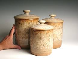 stoneware kitchen canisters stoneware canisters for kitchen canister set canister set chefs
