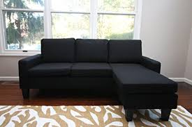 adjustable sectional sofa com large black cloth modern contemporary upholstered