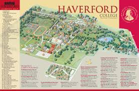 Virginia Tech Campus Map by Haverford Campus Map Philadelphia Pinterest Campus Map