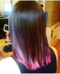 what are underneath layer in haircust a perfect pink underneath layer with a light brown hair hair dye